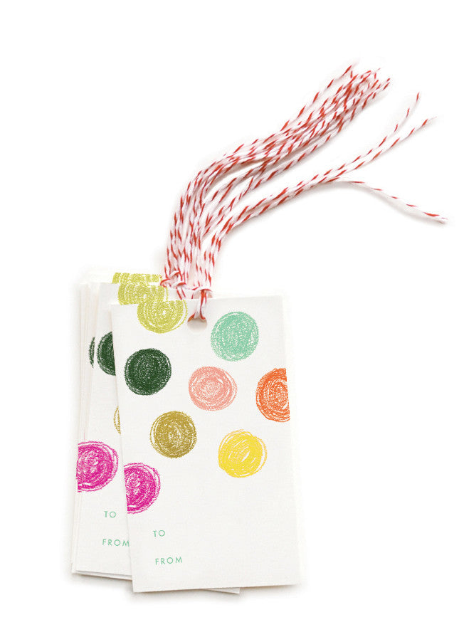 Party Dots Gift Tags - LEIF