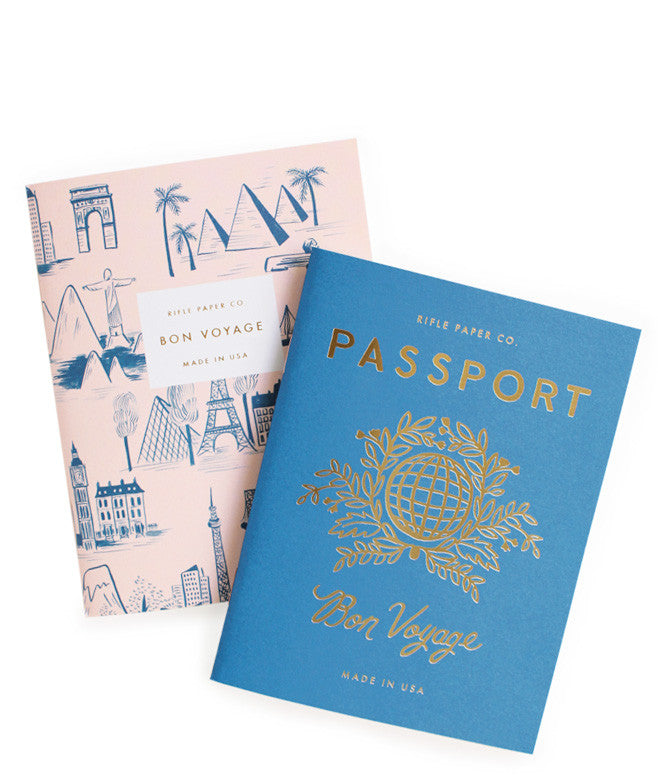 Passport Pocket Notebook Set - LEIF