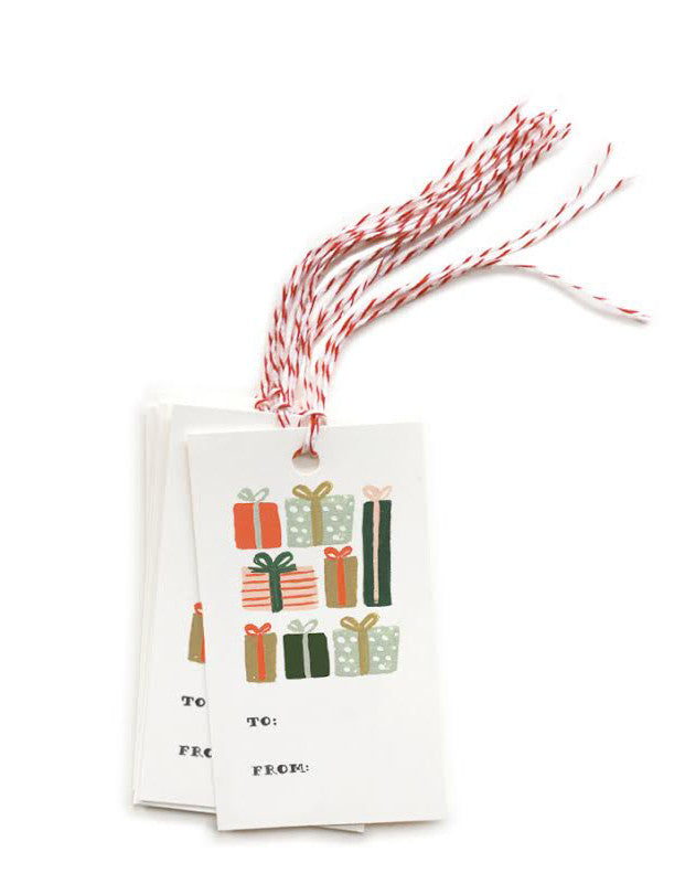 Presents Gift Tags - LEIF