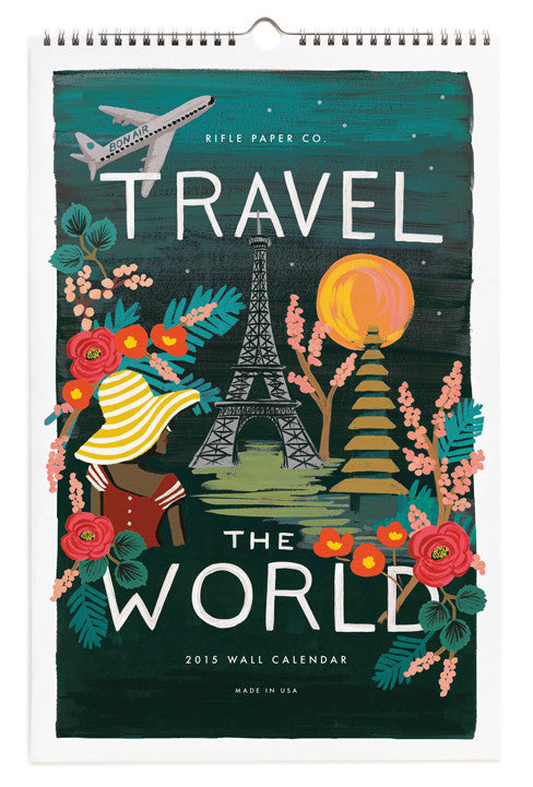 Travel The World 2015 Calendar - LEIF