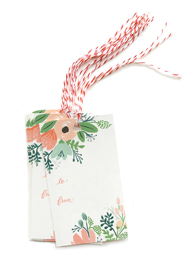 Wildflower Gift Tags - LEIF