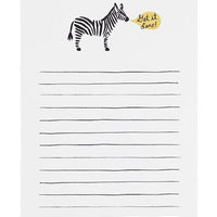 1: Get It Done Zebra Notepad in  - LEIF