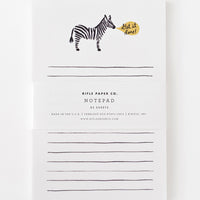 2: Get It Done Zebra Notepad in  - LEIF