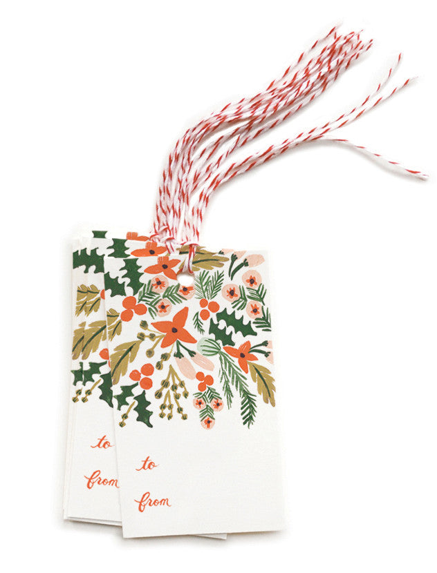 Winter Berries Gift Tags - LEIF