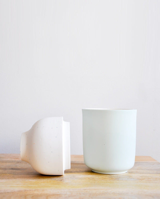 The Dot Vase in Mint - LEIF