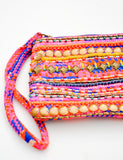 Riviera Embellished Mini Pouch - LEIF
