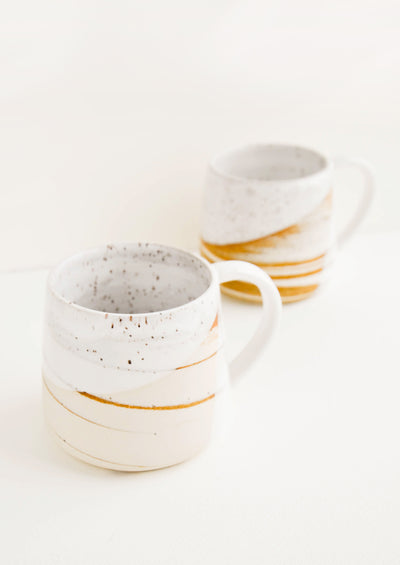 Milk & Honey Ceramic Mug hover