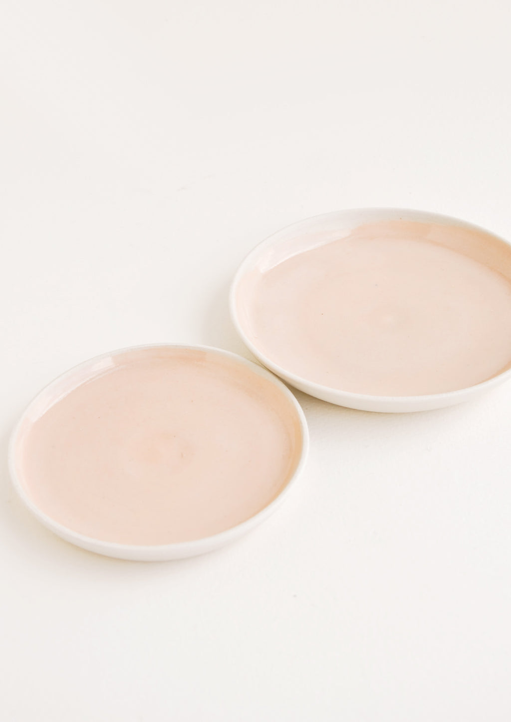 Mini / Peach: Nougat Ceramic Dish in Mini / Peach - LEIF