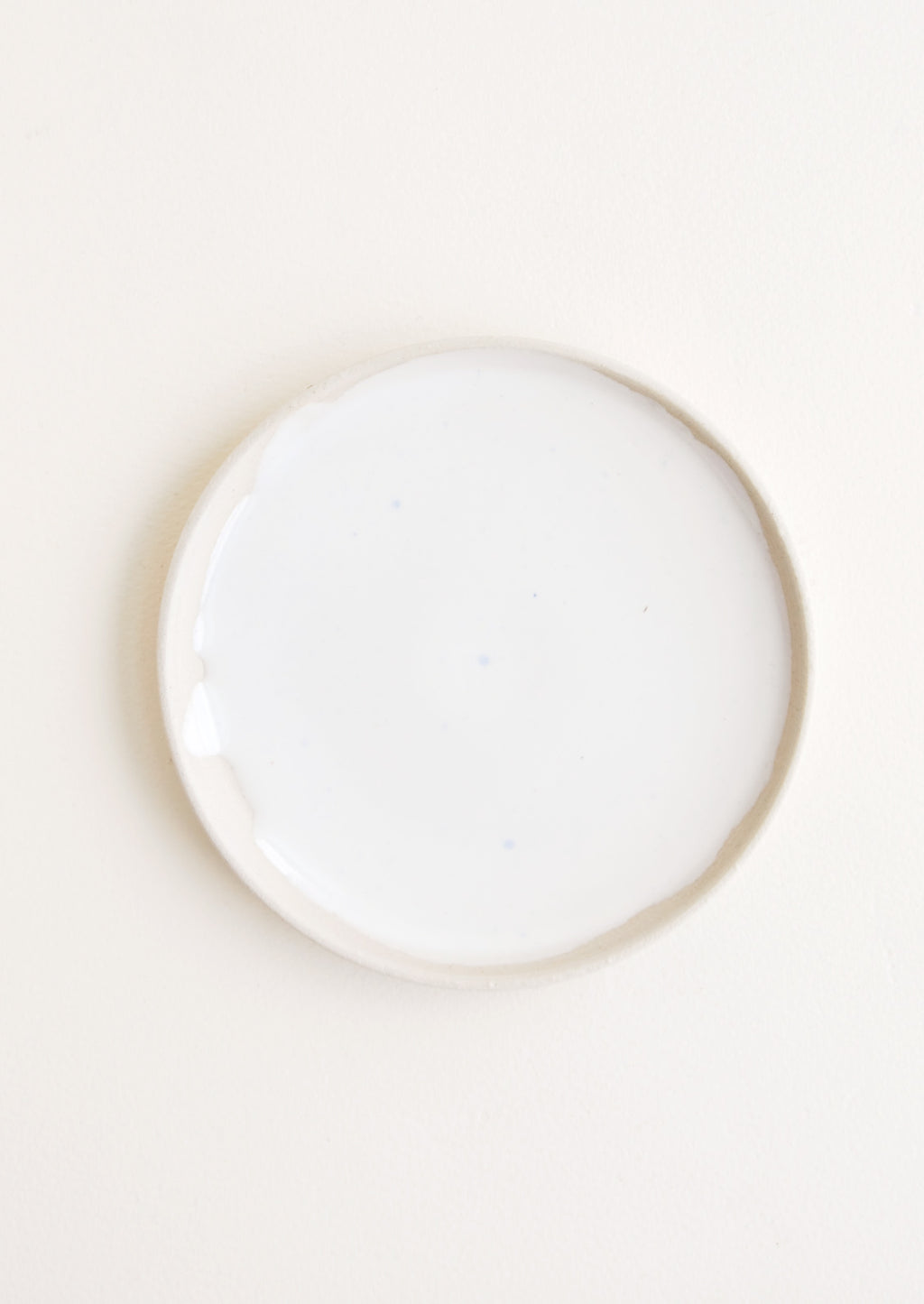 Mini / Milk: Nougat Ceramic Dish in Mini / Milk - LEIF