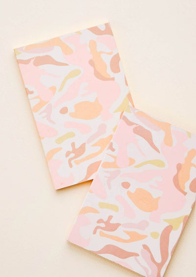 Rosy Camo Pocket Notebook Set