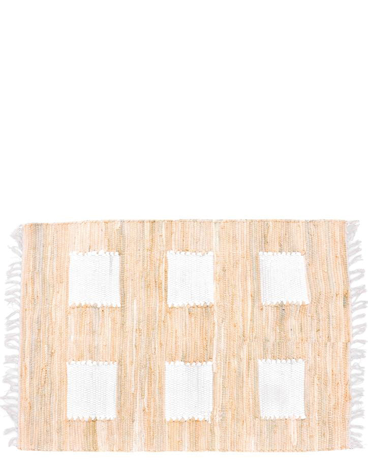 Natural: Row House Floor Mat in Natural - LEIF