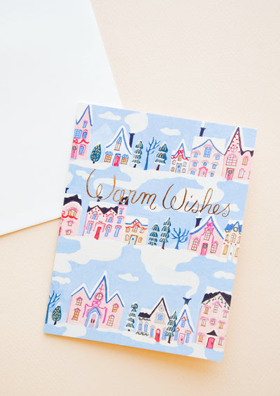 Rowhouse Warm Wishes Card