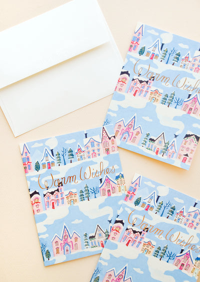 Rowhouse Warm Wishes Card hover
