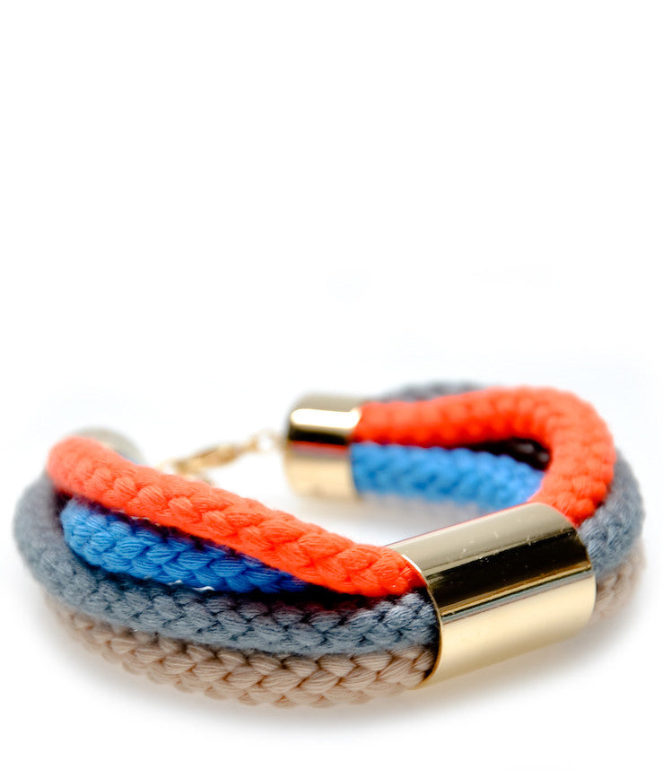 Color Cord Bracelet in Bright - LEIF