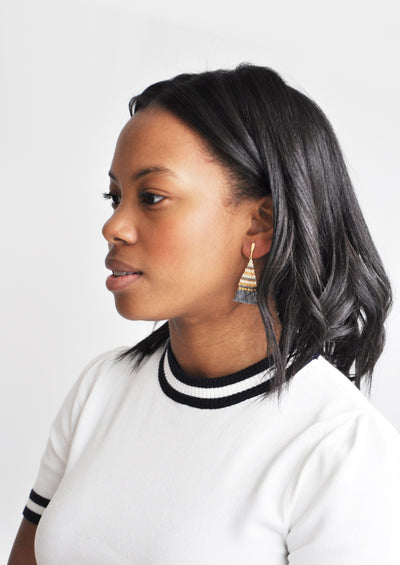 Sadie Tassel Earrings hover