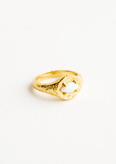 Saoirse Signet Ring hover