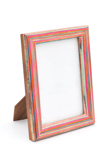 Saturated Stripe Picture Frame