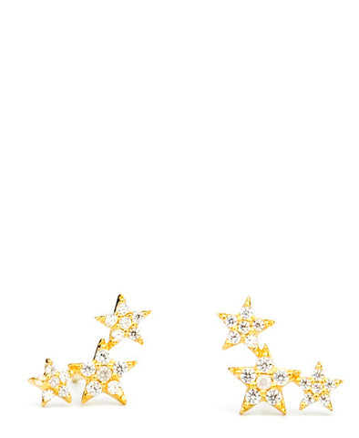 Scattered Star Stud Earrings