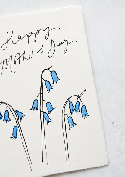 Bluebells Mother's Day Card hover