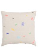 Scribbles Embroidered Pillow - LEIF