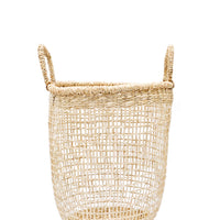 Small: Nesting Seagrass Storage Basket in Small - LEIF