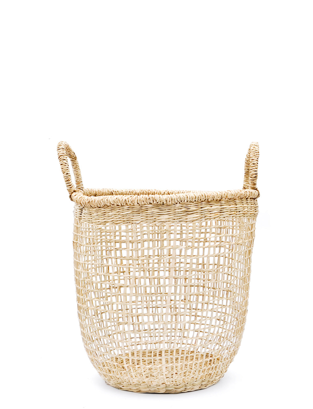Extra Small: Nesting Seagrass Storage Basket in Extra Small - LEIF
