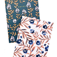 3: Wallflower Floral Notebook Set in  - LEIF