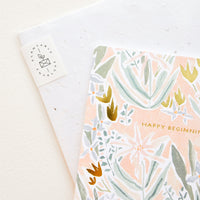 Happy Beginnings Card
