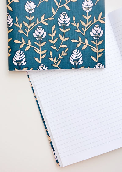 Wallflower Floral Notebook Set