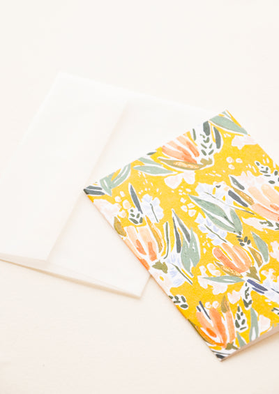 Wheaton Floral Notecard Set hover