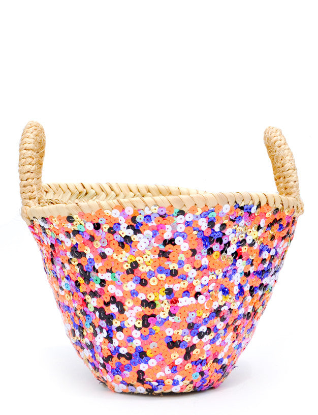 Sequin Basket - LEIF
