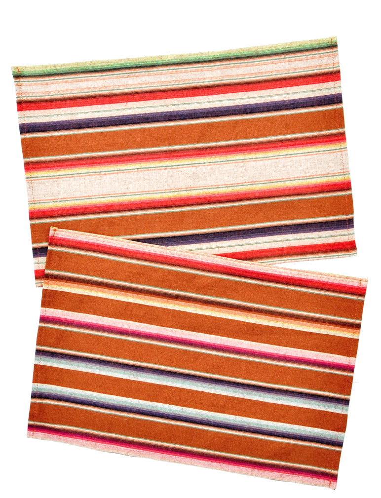 1: Serape Placemat Set in  - LEIF