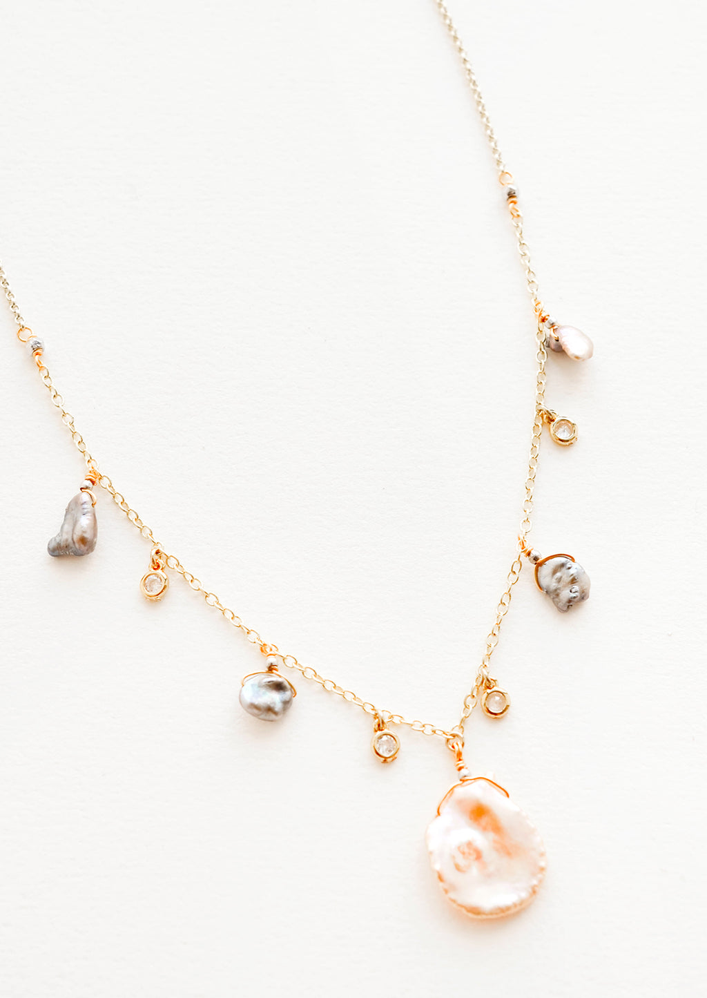 Seychelles Freshwater Pearl Necklace in  - LEIF