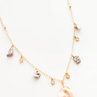 1: Seychelles Freshwater Pearl Necklace in  - LEIF