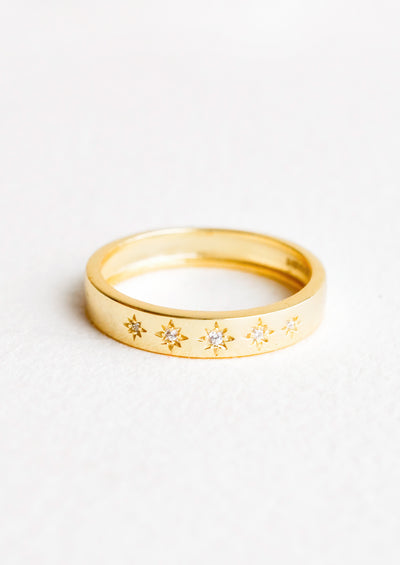 Evening Starlight Ring