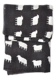 Sheep Print Wool Scarf - LEIF