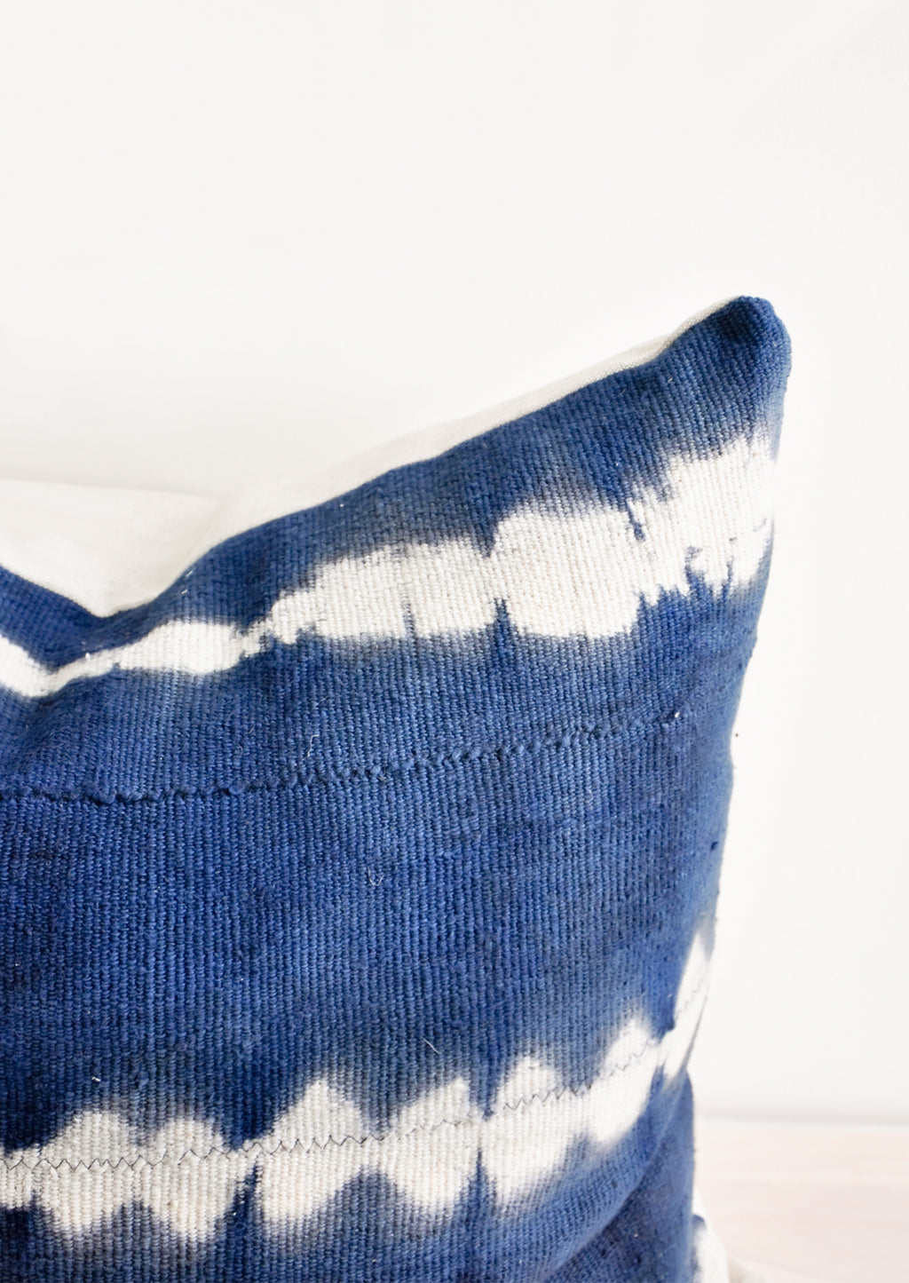 2: Shibori Mudcloth Pillow in  - LEIF