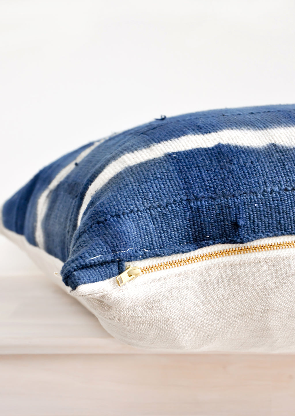 Shibori Mudcloth Pillow