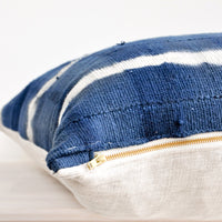 3: Shibori Mudcloth Pillow in  - LEIF