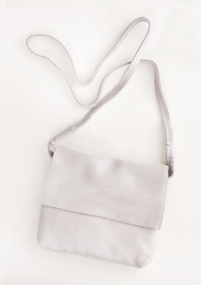 Shimmer Leather Crossbody Bag