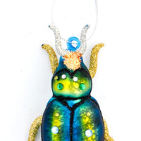 Shimmering Beetle Ornament - LEIF