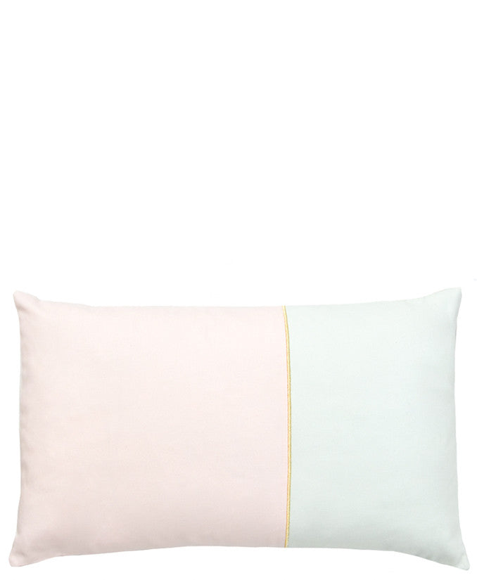 Shimmer Stripe Colorblock Pillow - LEIF