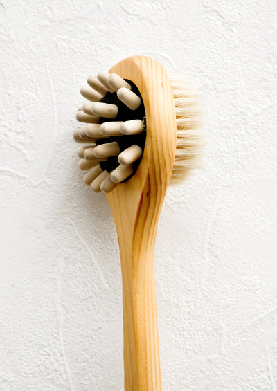 Cedar Massage Shower Brush hover