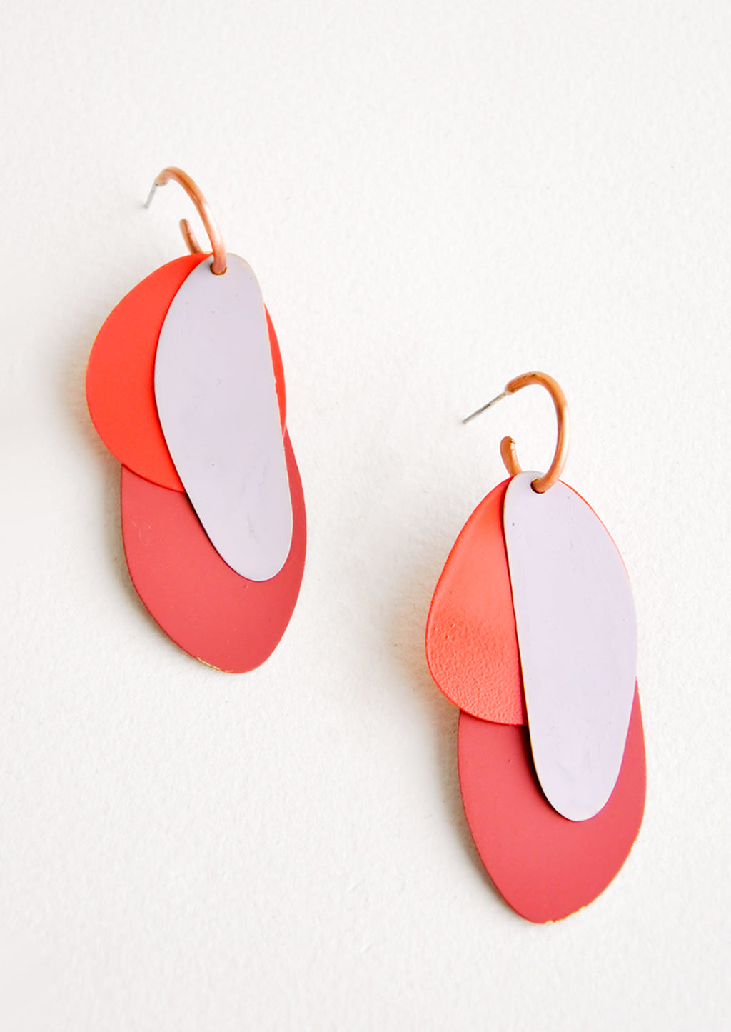 Painted Petals Earrings