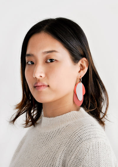 Painted Petals Earrings hover