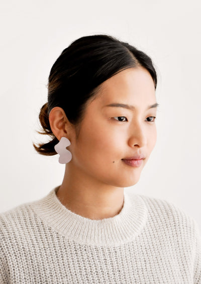 Squiggle Shape Earrings hover