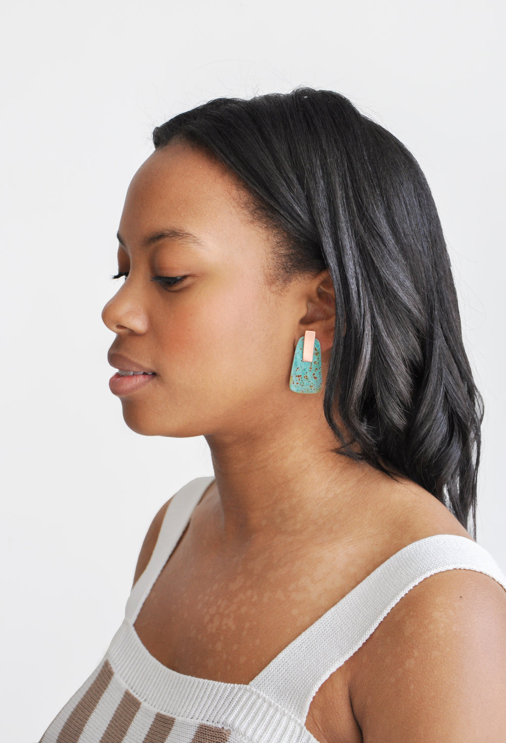 2: Tempo Convertible Earrings in  - LEIF
