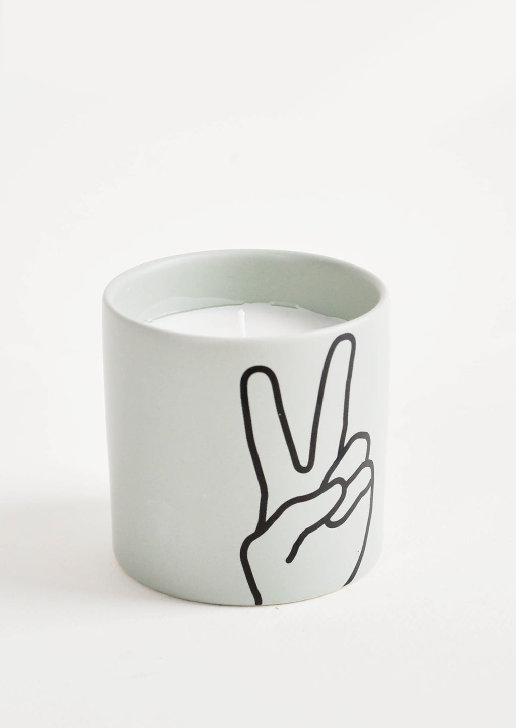 Peace: Sign Language Candle in Peace - LEIF