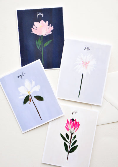Single Stems Card Set