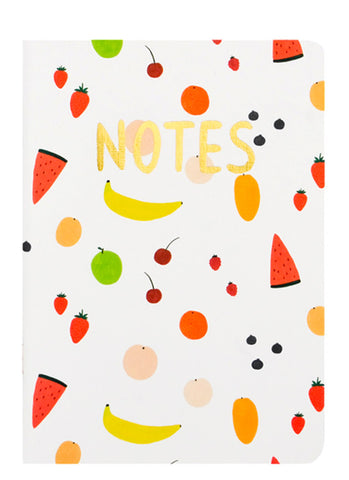 Sketched Fruits Notebook